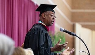 Image of SCC holds 31st annual commencement exercises; Sally Faith receives 2019 Distinguished Alumni Award