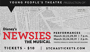 Image of Disney's 'Newsies' the Musical comes to SCC March 22-3