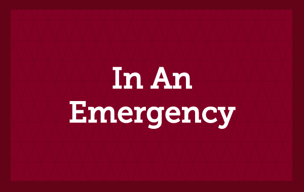 In An Emergency
